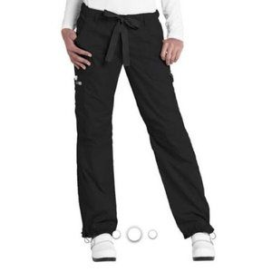 Koi Lindsey Black Scrub Pants Flawed JC12